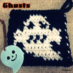 ハロウィン おばけ 編み物