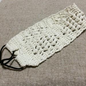 ヘアバンド 手作り かぎ針編み 幅広