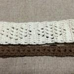 ヘアバンド 手作り かぎ針編み