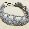 カチューム かぎ針編み 花 手作り