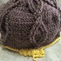 手編み 帽子 ニット