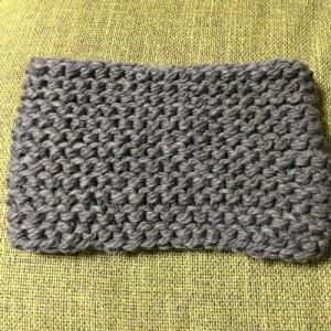 手編み スヌード 簡単