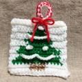 クリスマス アクリルたわし 編み図 無料