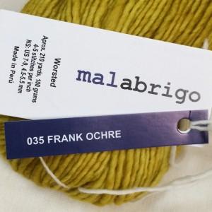 MALABRIGO マラブリゴ  Worsted ウーステッド カセ 通販