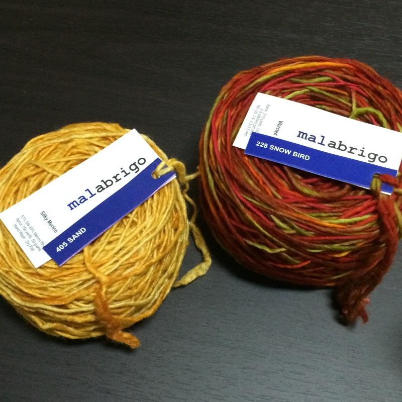マラブリゴの毛糸のかせを玉に巻く かせくり器と玉巻き器【MALABRIGO】