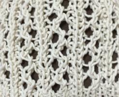 ラベリー Ravelry 編み図 無料 帽子 ニット帽 ビーニー 透かし編み 夏用 手編み 輪針 輪編み
