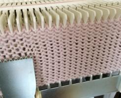 あみむめも 機械編み 編み機 手編み機 GK-370 ドレスイン 試し編み 編地 毛糸