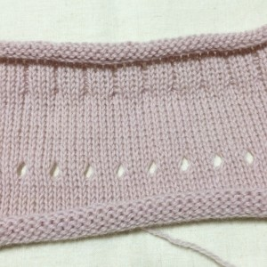 あみむめも 機械編み 編み機 手編み機 GK-370 ドレスイン 試し編み 編地 毛糸 並太