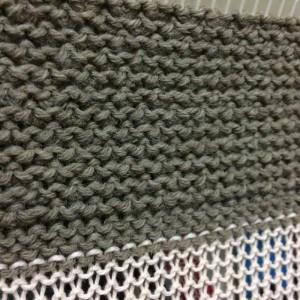 あみむめも GK-370 機械編み 模様編み 引き上げ模様 試し編み 編地 地模様