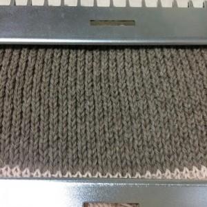 あみむめも GK-370 機械編み 模様編み 引き上げ模様 試し編み 編地 地模様 ゴム編み