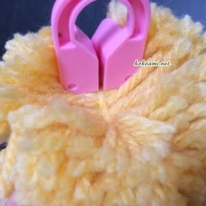 ポンポン 作り方 簡単 毛糸 道具 ポンポンメーカー 使い方 セリア 100円ショップ