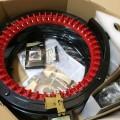 addi express 46 addiexpress46 アディ エクスプレス 輪編み機 編み機 ハンドル 帽子 ネックウォーマー 機械編み