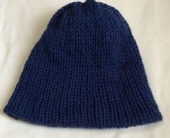 ニット帽 毛糸 帽子 ダイソー 100均 並太 ダブル Addi Express 46 king size まっすぐ編み 簡単 編み機 輪編み