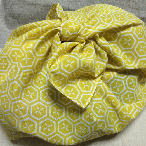 裁縫の練習に可愛い手ぬぐいで簡単なあずま袋を作ってみた【作り方】